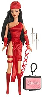 Barbie as Elektra from Marvel Comics