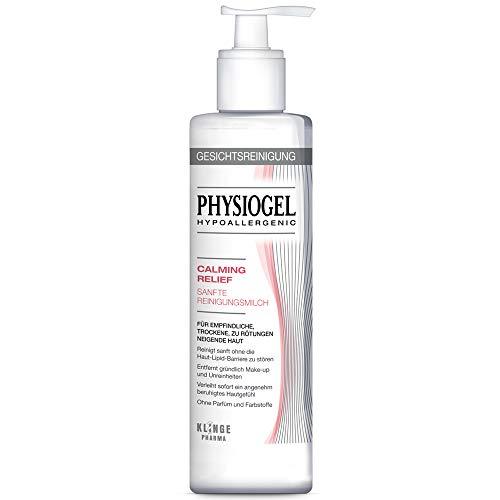 PHYSIOGEL Calming Relief Sanfte Reinigungsmilch - Für empfindliche, gerötete Haut, 200 ml