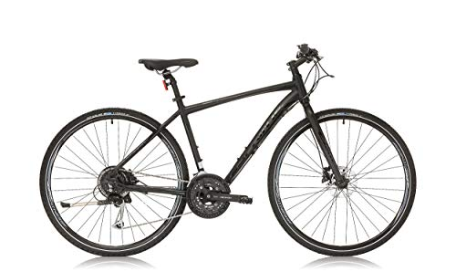 """BIKE SPORT LIVE ACTIVE Sprint SINTERO Plus Herren City Fahrrad 28\"""" Zoll Rahmen 480 mm Starke Gabel (Schwarz Matte/Schwarz)"""