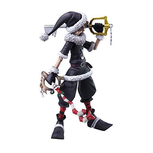 Square Enix Bring Arts - Kingdom Hearts II Sora Christmas Town Version Figura de acción, 15cm , color/modelo surtido