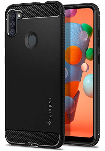Spigen Rugged Armor Designed for Galaxy A11 Case (Compatible with North American Version) (2020) -...
