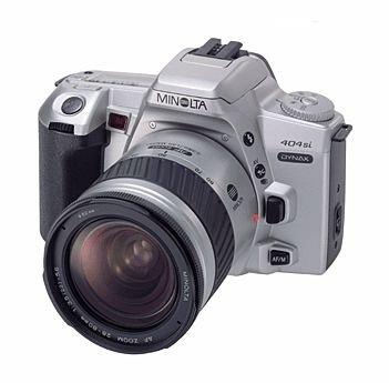 Minolta Dynax 404si QD Spiegelreflexkamera (nur Gehäuse)