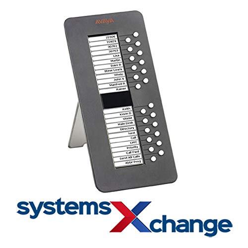 Avaya 700462518 SBM24 24-Tasten-Erweiterungsmodul für ein X Deskphone Edition 9630, 9630G, 9640, 9640G, 9650, 9650C (Zertifiziert und Generalüberholt)