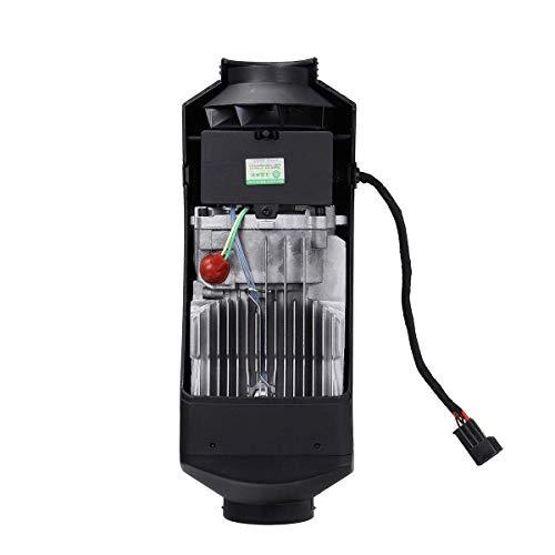 YAJIWU Calentador de coche descongelador, 12 V 8 KW negro estacionamiento aire diesel calentador LCD termostato silenciador 10 l tanque camiones barcos coche RV- calentador portátil coche