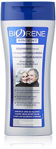 Biorène shampoo, intensief, voor grijs en wit, biorenes haar, 200 ml, 2 stuks