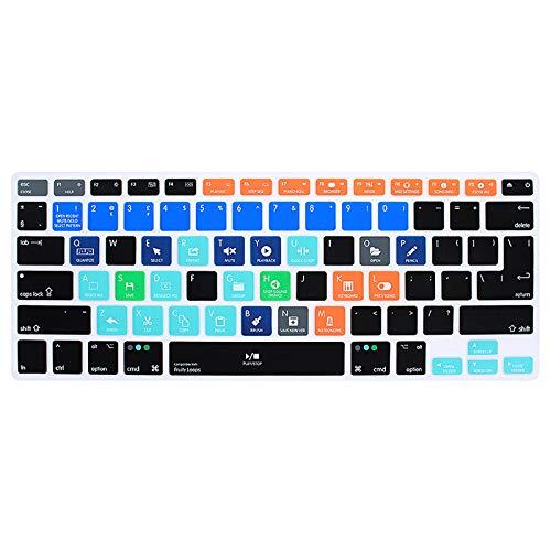 KASHINO FL Studio Fruity Loops - Funda de silicona para teclado MacBook Air Pro Retina de 13 pulgadas, 15 y 17 pulgadas