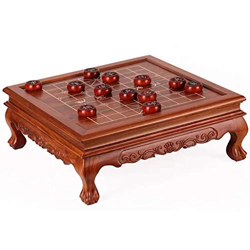 AJH Juego de ajedrez Chino de Mesa Xiangqi, Juegos de Mesa de Estrategia, Juegos caseros educativos clásicos para 2 Jugadores