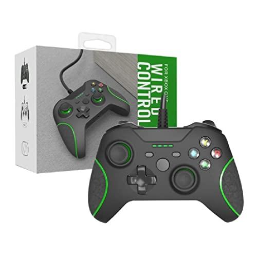 Frotox Controlador con Cable para X Box One Thin Controller Gamepad Mando Mando X Box One Controller Gamepad