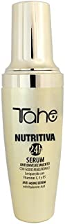 Tahe Nutritiva 24h Serum Facial Noche con Ácido Hialurónico y Vitamina C, Especial Anti-envejecimiento, 50 ml