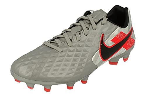 Nike Legend 8 Pro FG Botas de fútbol para hombre At6133, gris (Gris Metálico Negro 906), 40 EU