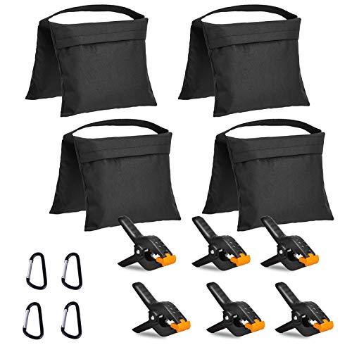 Lidlife 4 Packs of Heavy Photography Sandbag Studio Video Sandbags, Used for Light Brackets, Boom Brackets, Props for Fixed Brackets