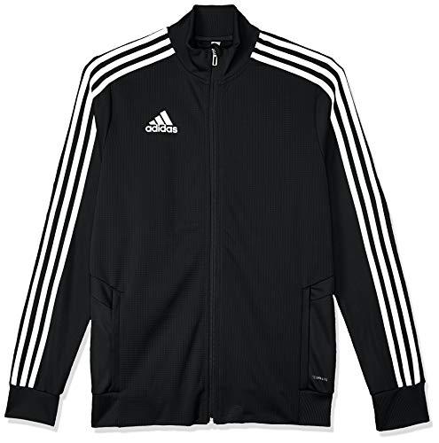 adidas Kinder TIRO19 TR JKTY Sport Jacket, Black/White, 1314