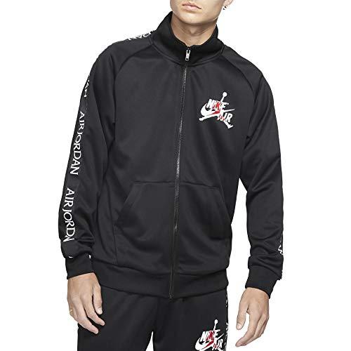 Nike M J Jm CLSC Tricot Warmup JKT Long Sleeve Top, Herren M schwarz