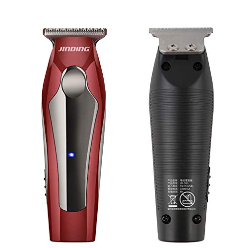 Best Electric Hair Trimmer, Men's Electric Hair Clippers Household Adult Children Haircut Power Haircut Combs Performance Home Haircut & Grooming Kit Set For Babies,Children and Adults (Red)