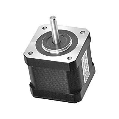 RTELLIGENT Nema 17 Stepper Motor 4-Wire 0.71Nm 1.8Deg 1.8A 2 Phase 42x60mm Step Motor 3D Printer/CNC Machine