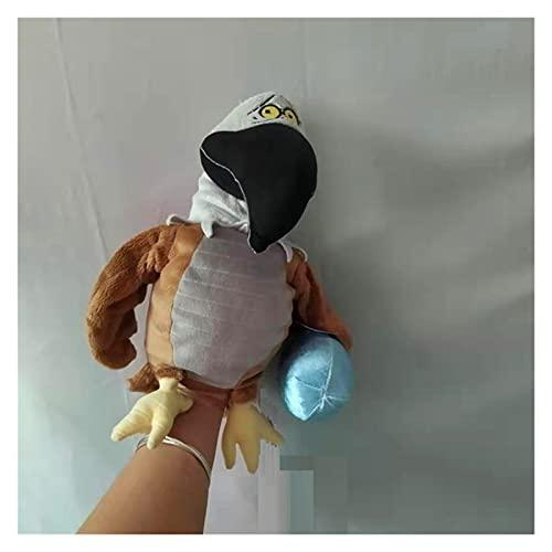 XINGYAO Muñeca de Dedo Peluche Juguete de Peluche Muñeca Mano Puppet Dibujos Animados Animal Pájaro Águila con Huevo Tiempo de Dormir Sistoria para Dormir Bebé Regalo de cumpleaños 1pc
