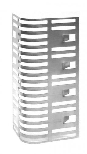 Mauerlüfter, Fugenlüfter Edelstahl Clip Bauhöhe 60 mm