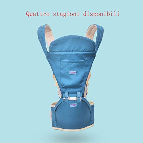 Baby Carrier Ergonomics 4 In 1 Atmungsaktive Babytragegurte Baby Four Seasons Universalgurte Für Neugeborene Kleinkinder,F