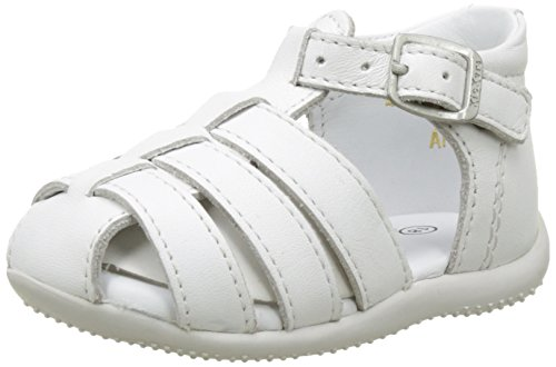 Kickers Baby Mädchen BIGFLY Krabbel- & Hausschuhe, Weiß (Blanc 3), 22 EU