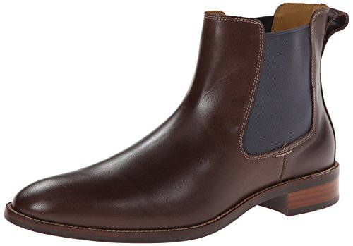 Cole Haan Men's Lenox Hill Chelsea Boot,Chestnut Water Proof,12 M US