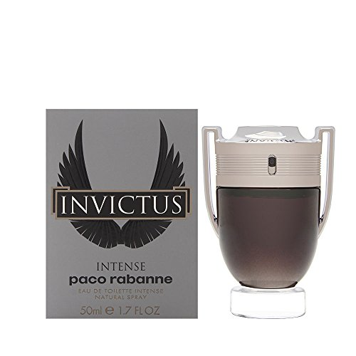 Paco Rabanne Invictus Intense Spray for Men, 1.7 Ounce