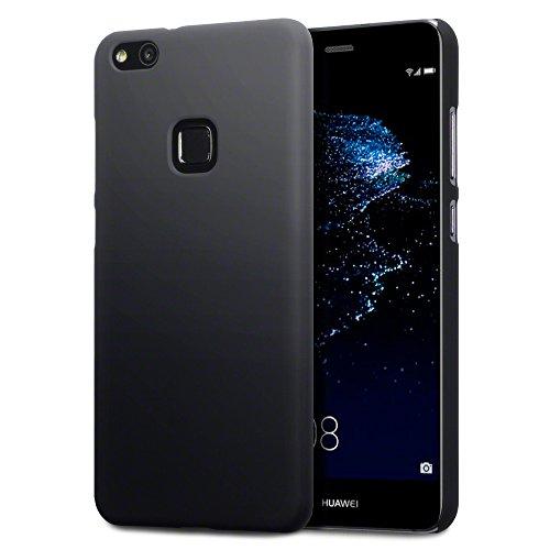 P10 Lite Cover, Terrapin Cover di Gomma Rigida per Huawei P10 Lite Custodia, Colore: Nero