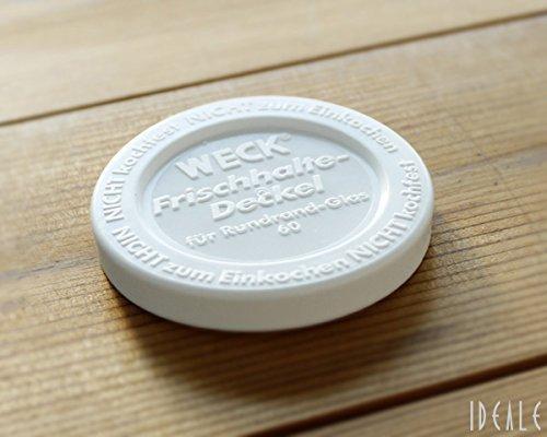 ウェック(WECK) プラスティックカバー WE007 直径Sサイズ 【並行輸入品】