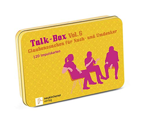 Talk-Box Vol. 6 - Glaubenssachen für Nach- und Umdenker. 120 Impulskarten