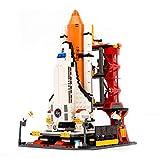 BAIDEFENG Kit De Blocs De Construction Fusée Spatiale Série Aérospatiale Briques Modèle Navette Spatiale Mini Figurines Puzzle 3D Bricolage Jouets Cadeaux pour Enfants Adultes