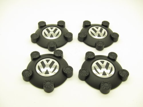 Volkswagen Steel Wheel Center Caps (Set of 4)