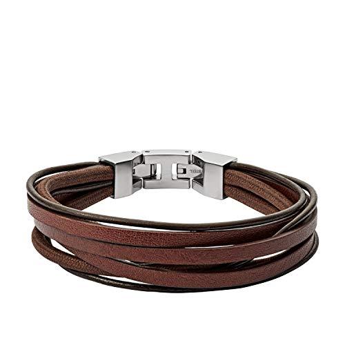 Fossil Herren Armband Brown Multi Wrap JF03184040