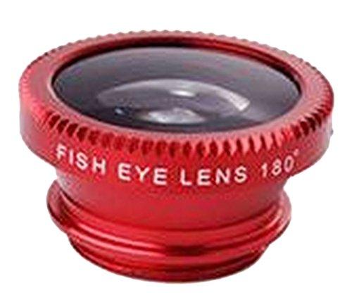 Plus Nao(プラスナオ) 自撮りレンズ セルカレンズ 3in1 0.67 広角レンズ 魚眼レンズ マクロレンズ 接写レンズ クリップ式 ワイド スマホ iP - ブラック