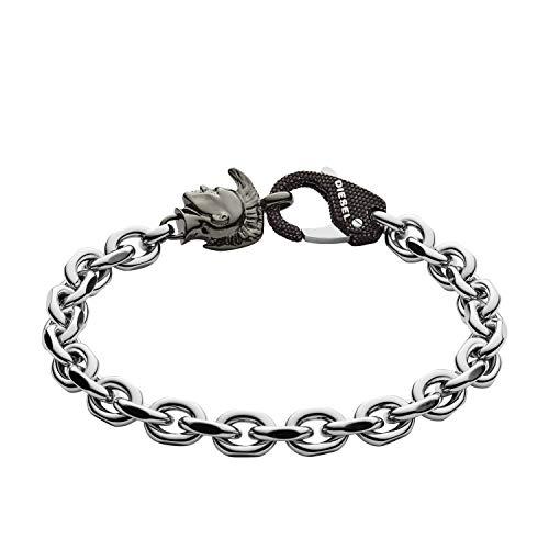 Diesel Cadena pulsera Hombre acero inoxidable - DX1146040