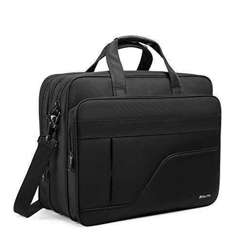 Laptop Briefcase,17 inch Laptop Bag,Water Resisatant Shoulder Bag,Thicken Nylon Multi-functional Messenger Bags,Fit for 17 inch Notebook,Computer,Tablet MacBook