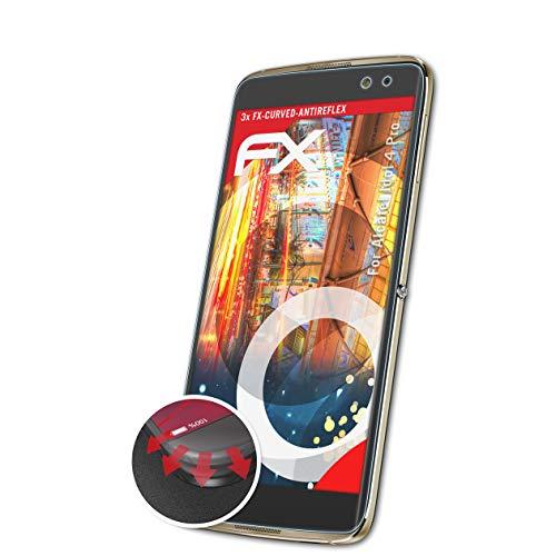 atFolix Schutzfolie kompatibel mit Alcatel Idol 4 Pro Folie, entspiegelnde & Flexible FX Bildschirmschutzfolie (3X)