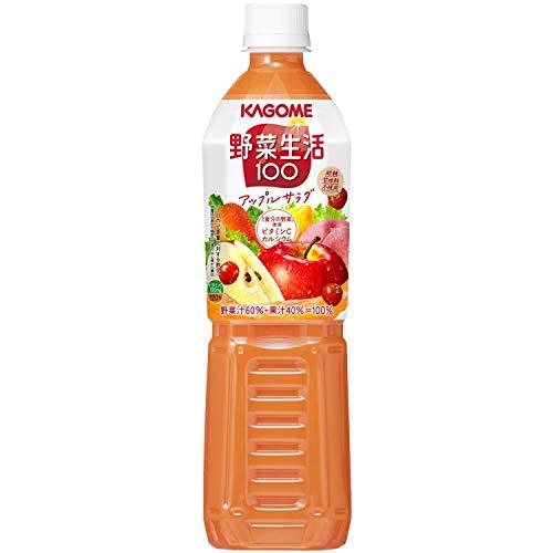 カゴメ 野菜生活100 アップルサラダ スマートPET 720ml ×15本