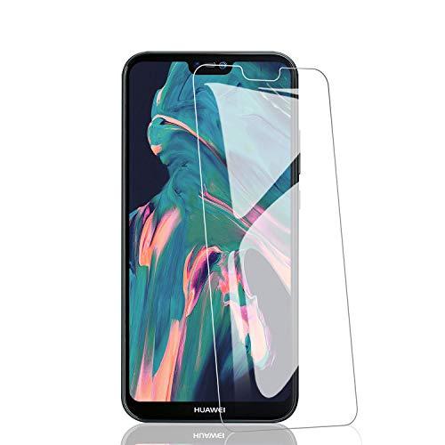 RIIMUHIR 3 Pezzi Pellicola Vetro Temperato Compatibile con Huawei P20 Lite, Durezza 9H, Anti-Graffi, Anti-Impronte, Facile da Pulire