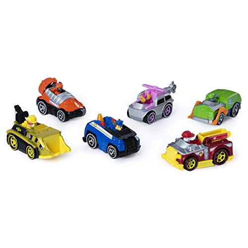 PAW Patrol, True Metal Classic Gift Pack of 6 Collectible Die-Cast Vehicles, 1:55 Scale