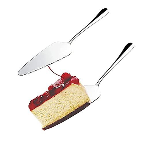 sylbx 5 Pezzi Paletta Torta Coltello Torta Acciaio Inossidabile Torta Posate Professionale...