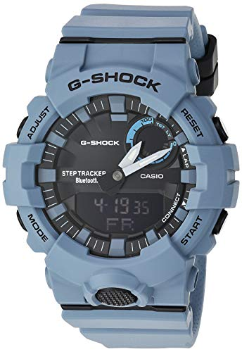 Casio G-Shock GBA800 Step-Tracker Grey Resin Watch GBA-800UC-2ACR
