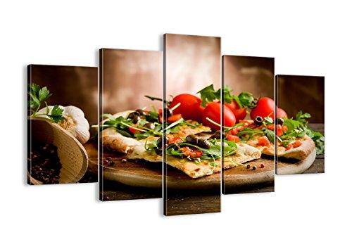 Bild auf Leinwand - Leinwandbilder - fünf Teile - Breite: 150cm, Höhe: 100cm - Bildnummer 2540 - fünfteilig - mehrteilig - zum Aufhängen bereit - Bilder - Kunstdruck - EA150x100-2540