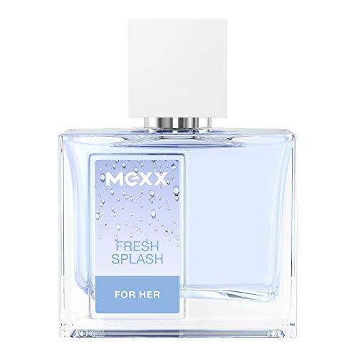 Mexx Fresh Splash For Her, Eau de Toilette, blumig-frischer Damenduft, Glasflakon mit Zerstäuber, 30 ml