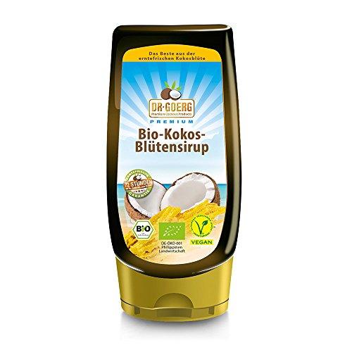 Dr. Goerg Premium Bio-Kokosblütensirup,  350 g