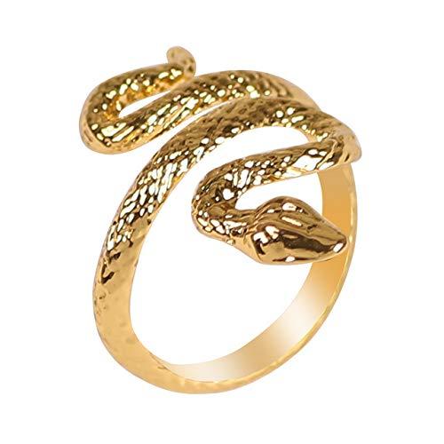 Men'S Ring Animal Snake Lizard Dragon Shape Opening Adjustable Fashion Men And Women Jewelry Gift