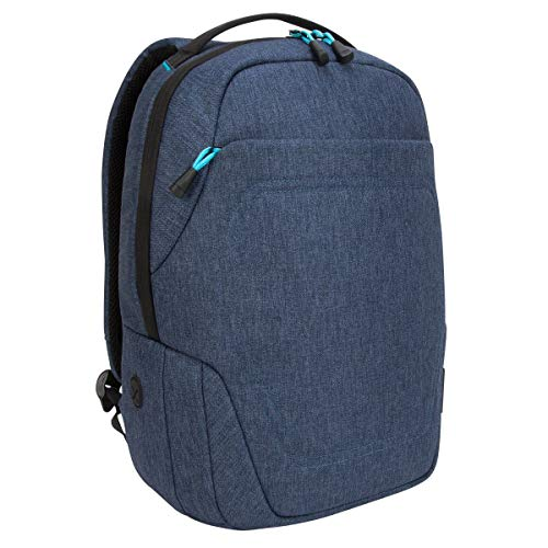 Targus Groove X2 Compact Backpack with Protective Sleeve Designed for Travel and Commute fits up to 15-Inch Macbook and Other Laptop, Navy (TSB95201GL)