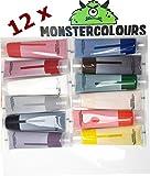 colorantes alimentarios líquidos en set de 12 unidades …