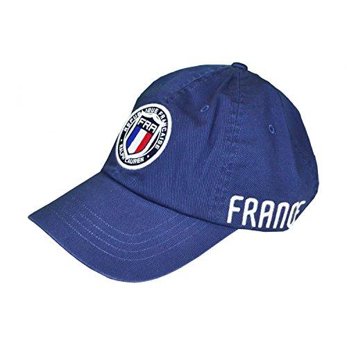 Ralph Lauren Casquette France Bleu Marine pour Homme