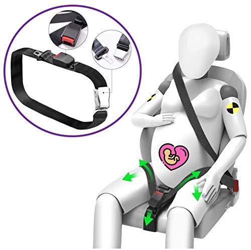 Globitec Auto Sicherheitsgurt Adapter für Schwangere Frauen, Schwangerschaftsgurt fürs Auto, größenverstellbar