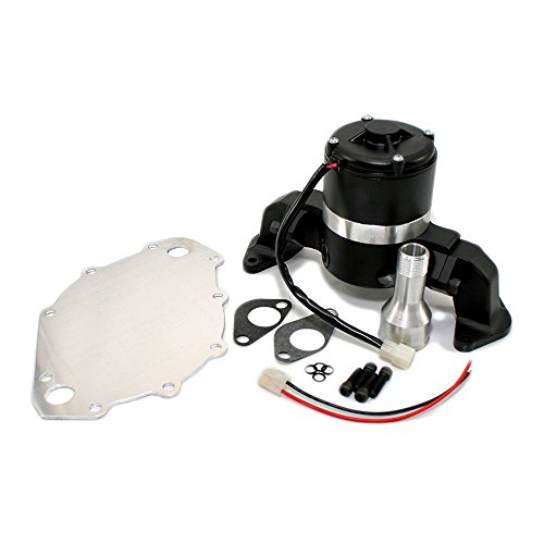 Assault Racing Products 6046002 for Big Block Ford Black Aluminum Electric Water Pump HV BBF 429 460
