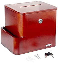 powerful Safco Products 4237CY Bamboo Proposal Box, Cherry